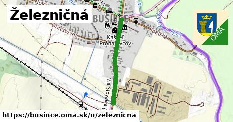 ilustračný obrázok k Železničná, Bušince