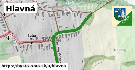 ilustrácia k Hlavná, Byšta - 431m