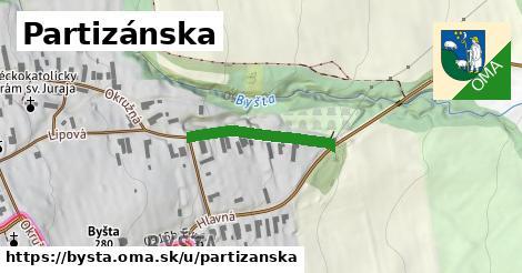ilustračný obrázok k Partizánska, Byšta