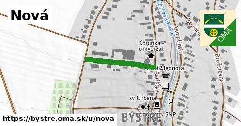 ilustrácia k Nová, Bystré - 216m
