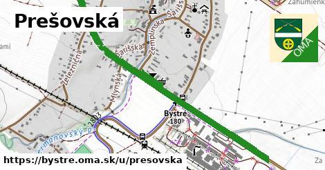 ilustrácia k Prešovská, Bystré - 1,27km