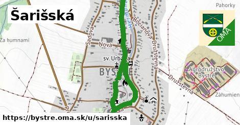 ilustrácia k Šarišská, Bystré - 1,03km