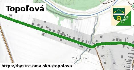 ilustrácia k Topoľová, Bystré - 0,83km