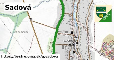 ilustrácia k Sadová, Bystré - 1,00km