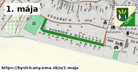 ilustračný obrázok k 1. mája, Bystričany