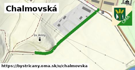ilustrácia k Chalmovská, Bystričany - 448m