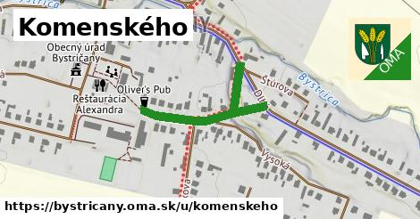 ilustrácia k Komenského, Bystričany - 318m