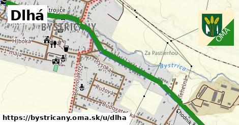 ilustrácia k Dlhá, Bystričany - 1,71km