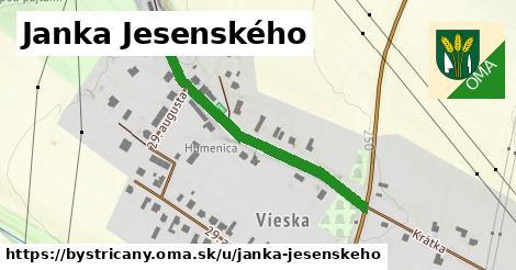 ilustrácia k Janka Jesenského, Bystričany - 395m