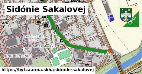 ilustrácia k Sidónie Sakalovej, Bytča - 0,88km