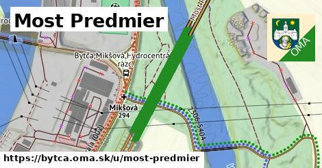 Most Predmier, Bytča