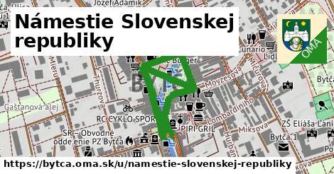 Námestie Slovenskej republiky, Bytča