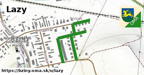 ilustrácia k Lazy, Bziny - 552m