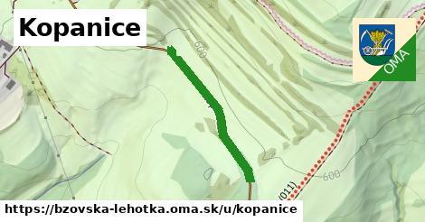 ilustrácia k Kopanice, Bzovská Lehôtka - 280m