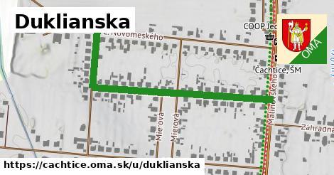 ilustrácia k Duklianska, Čachtice - 528m