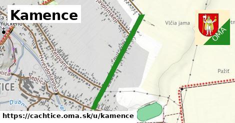 ilustrácia k Kamence, Čachtice - 673m