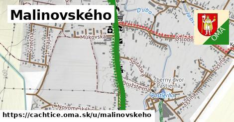 ilustrácia k Malinovského, Čachtice - 1,49km