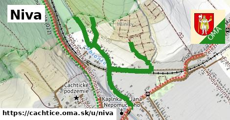 ilustrácia k Niva, Čachtice - 508m