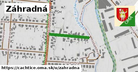 ilustrácia k Záhradná, Čachtice - 217m