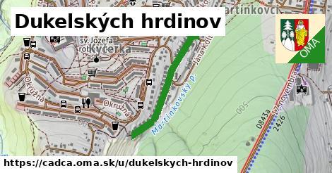 ilustrácia k Dukelských hrdinov, Čadca - 560m