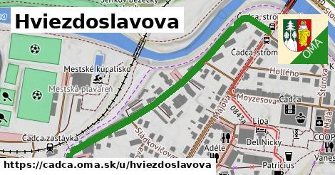ilustrácia k Hviezdoslavova, Čadca - 579m