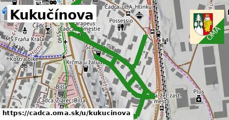 ilustrácia k Kukučínova, Čadca - 441m