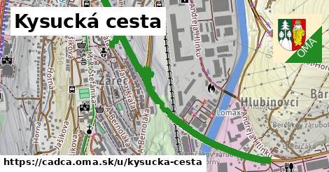 ilustrácia k Kysucká cesta, Čadca - 567m