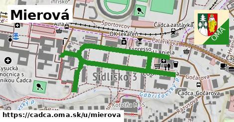 ilustrácia k Mierová, Čadca - 0,72km