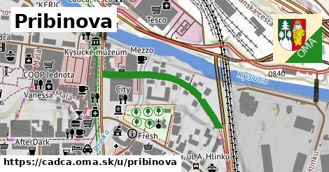 ilustrácia k Pribinova, Čadca - 301m