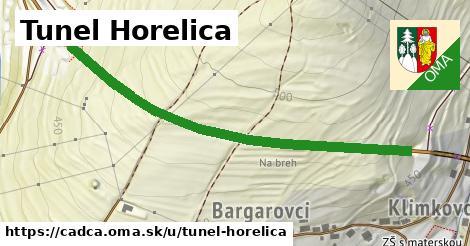 ilustrácia k Tunel Horelica, Čadca - 605m