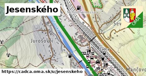 ilustrácia k Jesenského, Čadca - 3,1km