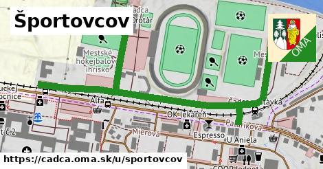 ilustrácia k Športovcov, Čadca - 0,90km