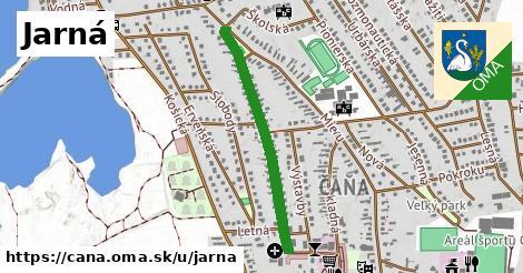 ilustrácia k Jarná, Čaňa - 672m