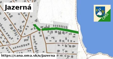 ilustrácia k Jazerná, Čaňa - 248m
