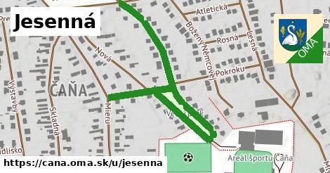 ilustrácia k Jesenná, Čaňa - 325m