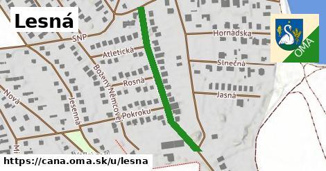 ilustrácia k Lesná, Čaňa - 369m