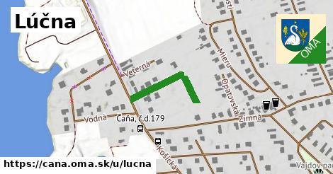 ilustrácia k Lúčna, Čaňa - 161m