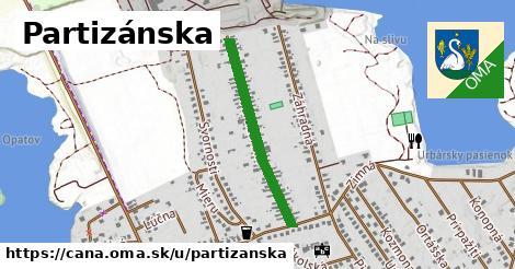 ilustrácia k Partizánska, Čaňa - 576m