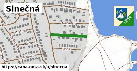 ilustračný obrázok k Slnečná, Čaňa