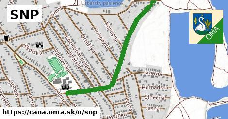 ilustrácia k SNP, Čaňa - 341m
