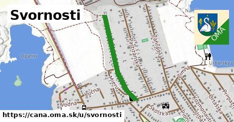ilustrácia k Svornosti, Čaňa - 588m