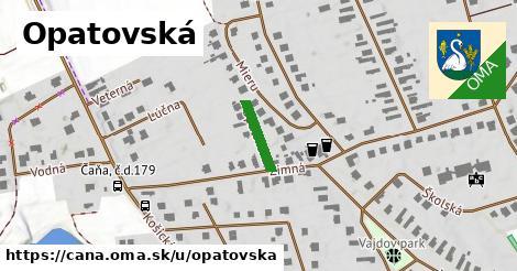 ilustrácia k Opatovská, Čaňa - 108m