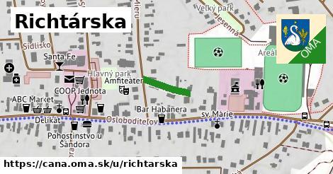 ilustrácia k Richtárska, Čaňa - 109m