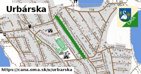 ilustrácia k Urbárska, Čaňa - 539m