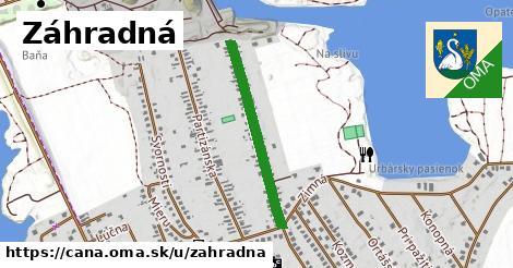 ilustrácia k Záhradná, Čaňa - 561m