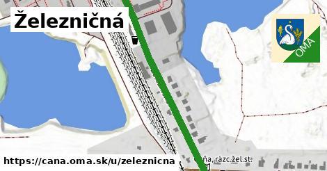 ilustračný obrázok k Železničná, Čaňa