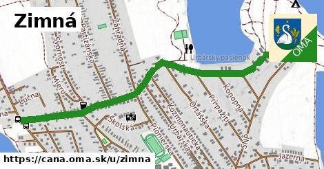 ilustrácia k Zimná, Čaňa - 0,73km
