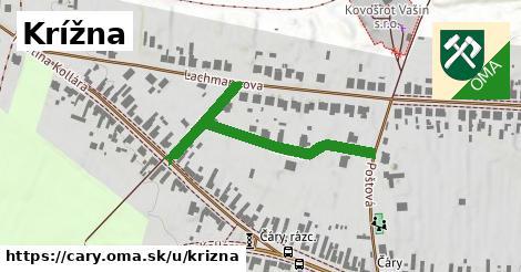 ilustrácia k Krížna, Čáry - 404m