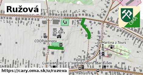 ilustrácia k Ružová, Čáry - 319m