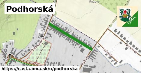 ilustračný obrázok k Podhorská, Častá